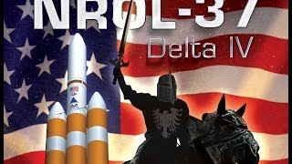 Delta IV rocket carrying a secret spy satellite