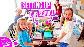MASSIVE SCHOOL SUPPLIES HAUL - SETTING UP OUR HOMESCHOOL!!
