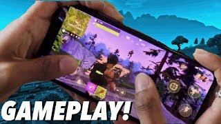 Fortnite Mobile Gameplay! + Download Updates