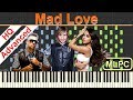 Sean Paul, David Guetta feat. Becky G - Mad Love I Piano Tutorial & Sheets by MLPC
