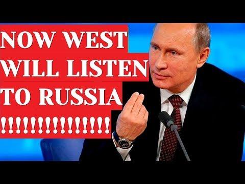 BREAKING Putin Shocks West: Nobody Listened To Russia; Listen To Us Now!