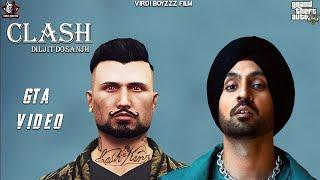 CLASH - Diljit Dosanjh (Official GTA Music Video ) G.O.A.T  Punjabi GTA Video 2020  VIRDI BOYZZZ