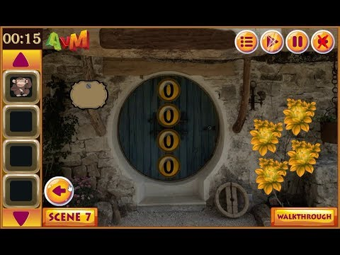 Old damaged house escape walkthrough avmgames youtube for Classic house walkthrough