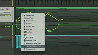 Logic Pro, Copy and Move Automation