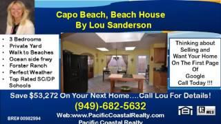 Capo Beach Homes For Sale