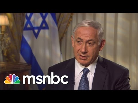 Netanyahu To Obama: 'Get The Facts Right' | Andrea Mitchell | MSNBC