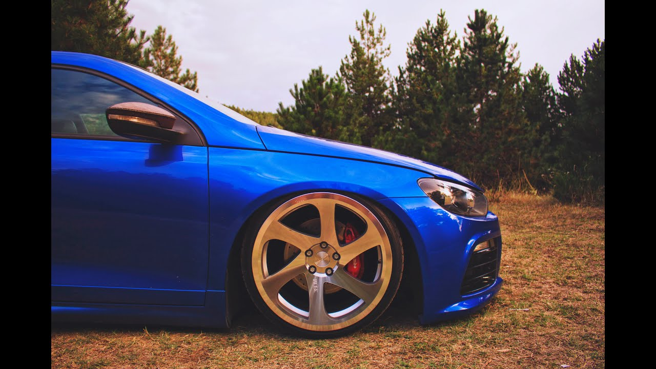 Bagged Vw Scirocco R 3sdm 0 06 Youtube