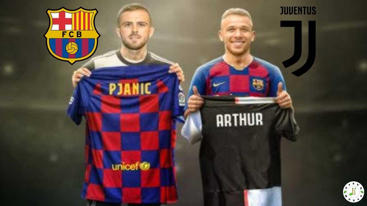 Pendahulu Arthur & Pjanic! 5 Pemain Yang Pernah Berseragam Barcelona dan Juventus