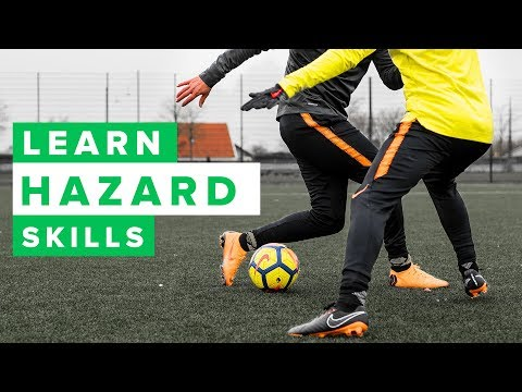 Learn cool Eden Hazard football skills | How to dribble like Hazard