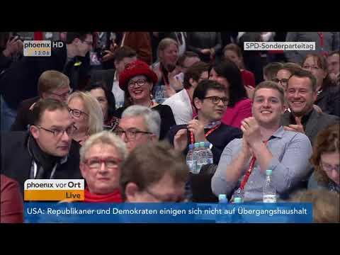 Aussprache über die Aufnahme von Koalitionsverhandlungen 1. Teil am 21.01.2018