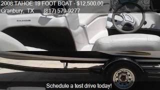 2008 tahoe 19 foot boat for sale in granbury tx 76048 at d