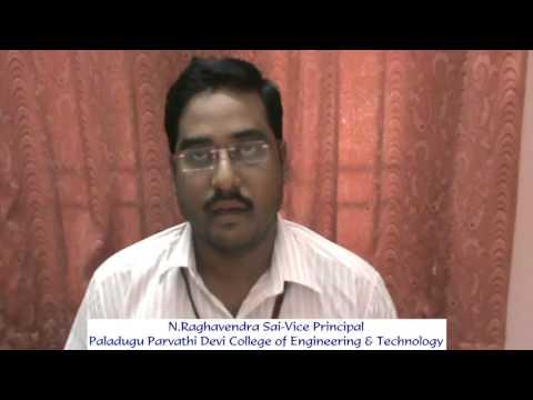 N Raghavendra Sai-Vice Principal-Paladugu Parvathi Devi College of Engineering & Technology