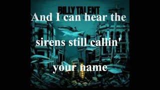 Billy Talent - Love was still around Lyrics