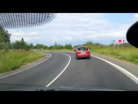 Hyundai Solaris прогулка на 160 км ч. Обзор ч. 2
