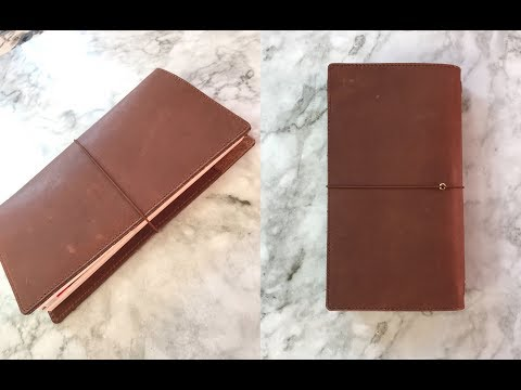 MOTERM Standard Travelers Notebook In Brown