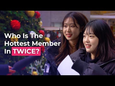 Who Is The Hottest Member In TWICE? | Koreans Answer