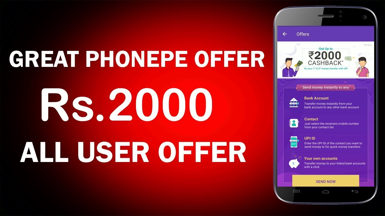 Image result for Rs.2000 on PhonePe""