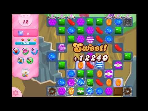 Candy Crush Saga - Level 2915 ☆☆☆