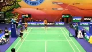 2012 Hong Kong Open QF WD Bao Yixin / Tang Jinhua (CHN) VS Goh Liu Ying / Lim Yin Loo (MAS)