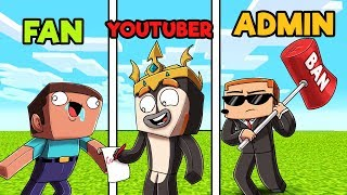 Minecraft - FAN BUILD BATTLE! (FAN vs. YOUTUBER vs. ADMIN)