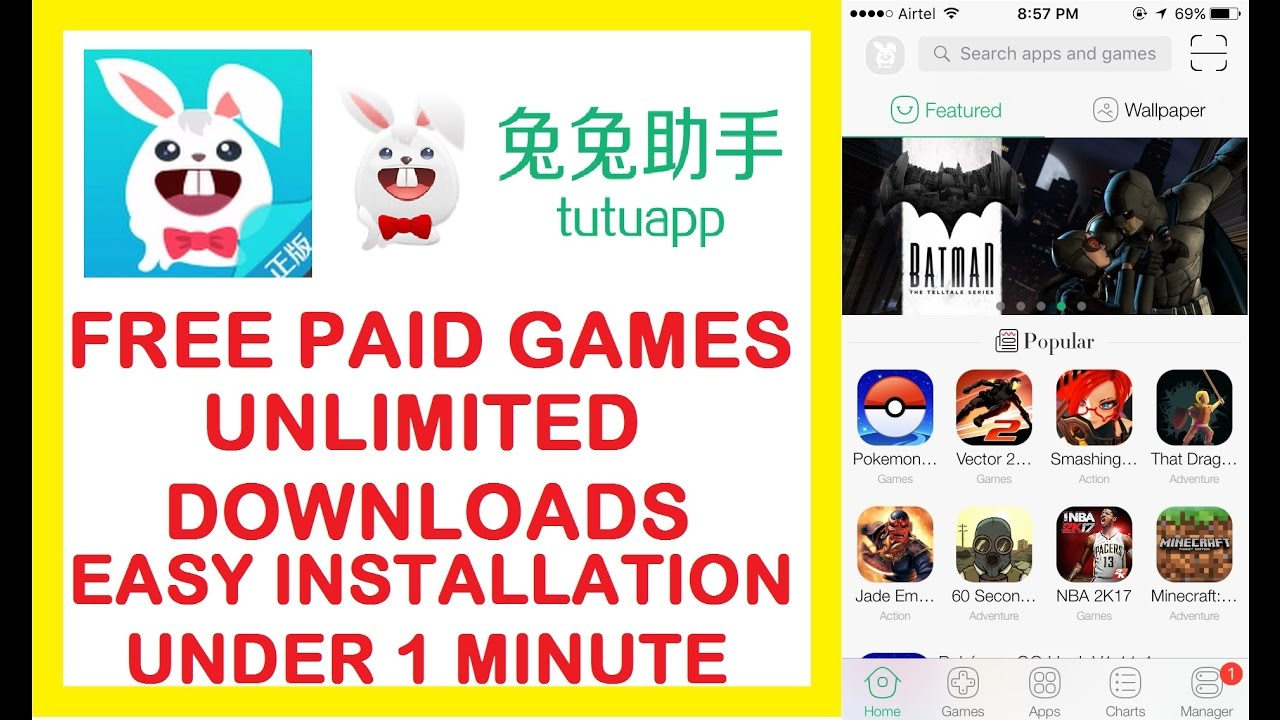 How to Install English version of tutuapp | No Computer | No jailbreak |  Unlimited Paid Games/Apps