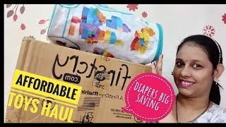 (Hindi) firstcry affordable toys haul | paytm cash back | one of the best diapers deals on firstcry