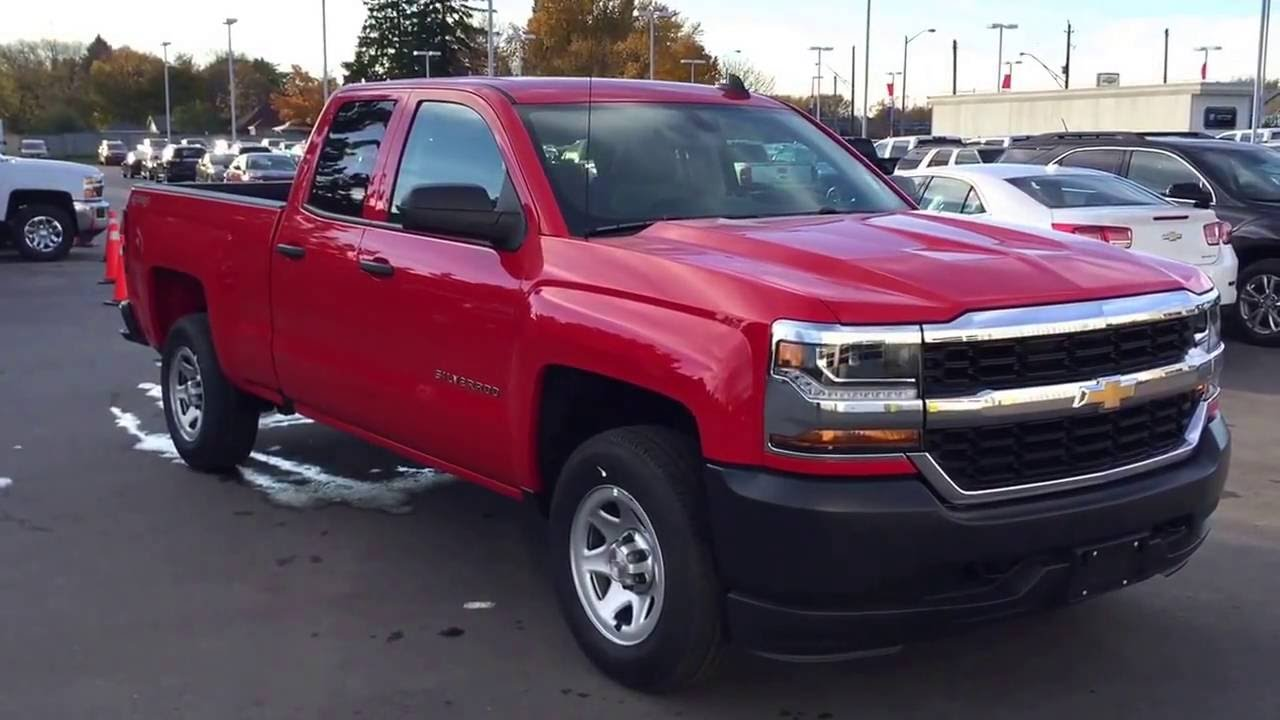 2017 Chevrolet Silverado WT 4WD Double Cab Flex Fuel in ...