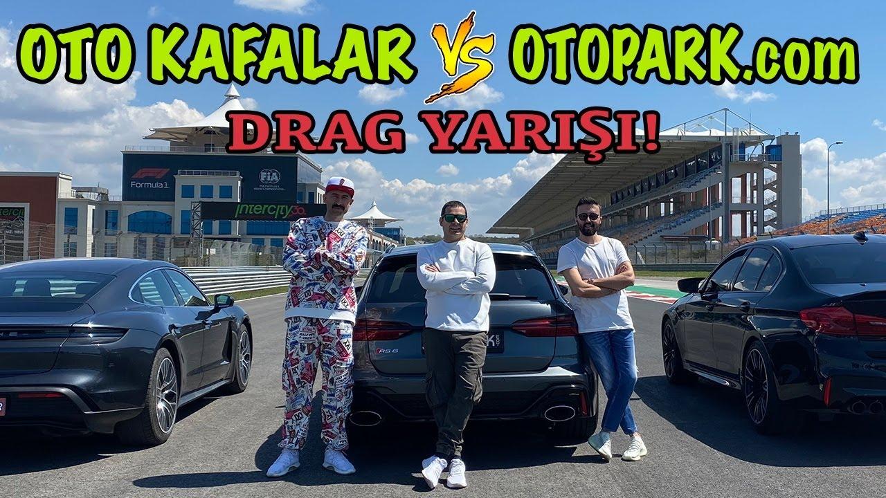 OTOPARK.com ile EFSANE DRAG YARIŞI 😎 (Taycan 4S vs M5 vs RS6) 🔥