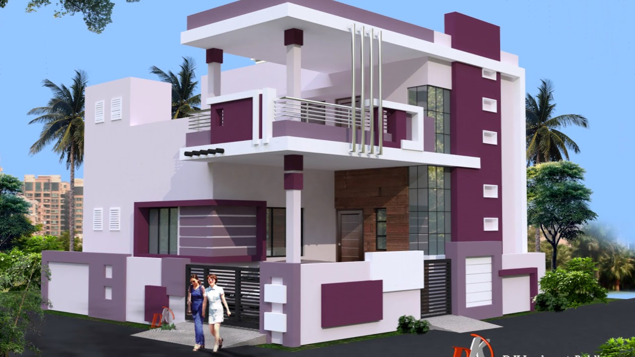 Simple Double Floor House Designs Youtube
