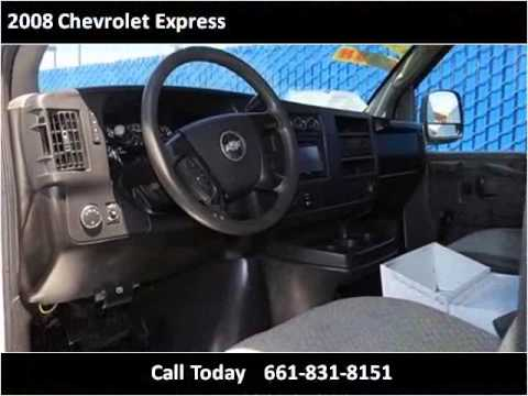 2008 Chevrolet Express Used Cars Bakersfield CA