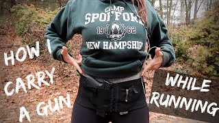 HOW I CARRY A GUN WHILE RUNNING