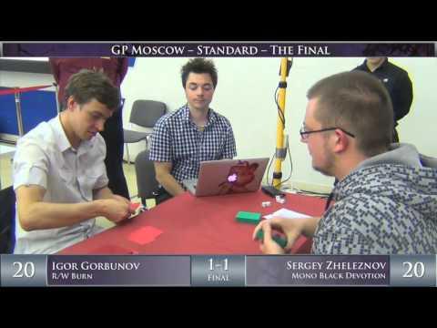 Grand Prix Moscow 2014 Finals: Igor Gorbunov vs. Sergey Zheleznov (Standard)
