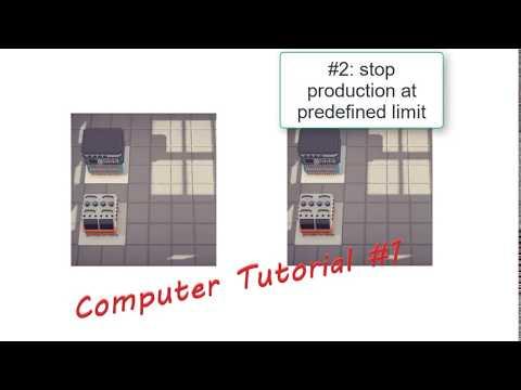 Automachef - Computer Usage #1 |
