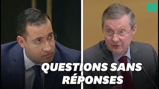 Baixar Benalla refuse de répondre aux questions pendant son audition au Sénat