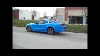 2014 mustang v6 roush exhaust sound comparison colony customs