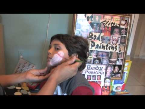 How to paint a snowman – Face Painting Tips