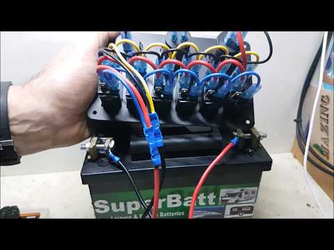 How To Wire A Boat Switch Panel