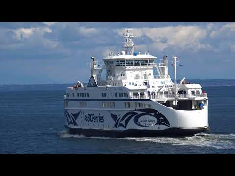 [4K UHD] Vancouver to Victoria BC Ferry Ride