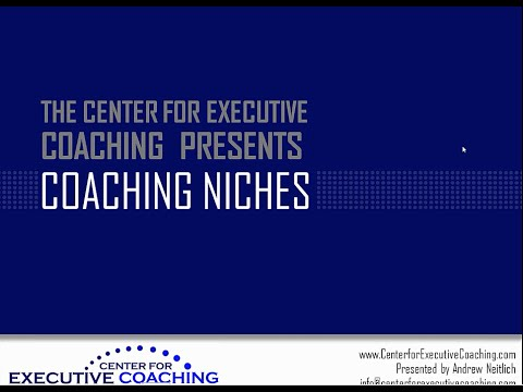 Top Coaching Niches for Business Coach & Executive Coaches