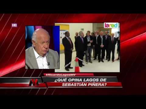 La crítica de Ricardo Lagos a Sebastián Piñera