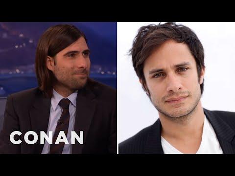 Jason Schwartzman's Sexy Encounter With Gael Garcia Bernal  - CONAN on TBS