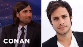 Repeat youtube video Jason Schwartzman's Sexy Encounter With Gael Garcia Bernal  - CONAN on TBS