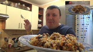 Узбекский Плов *Готовим Дома в Кастрюле* Видео Рецепт