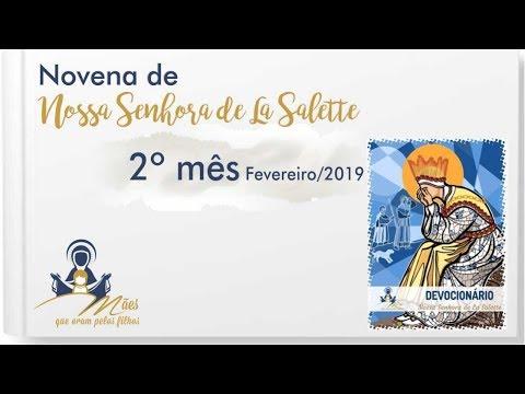 Mês 02 (Fevereiro/19) - Novena de Nossa Senhora de La Salette (Devocionário)