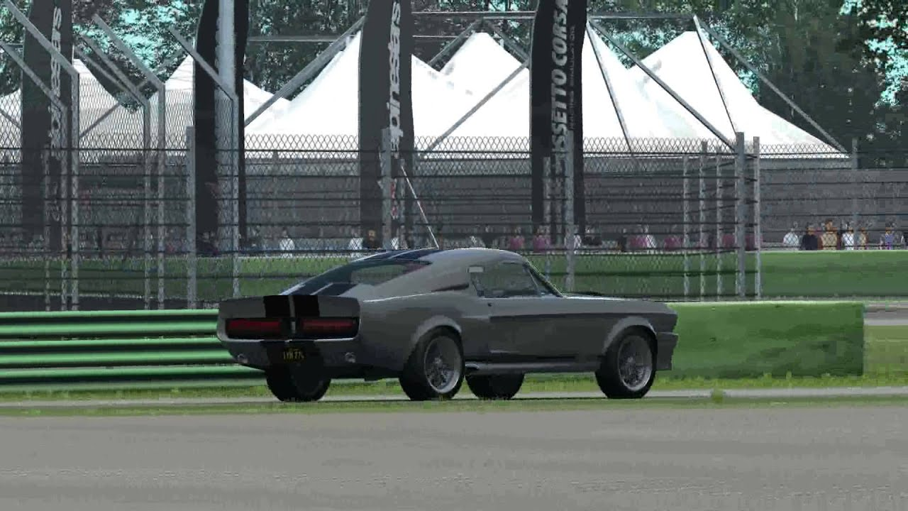 Assetto Corsa - New car mod test drive - Shelby Mustang
