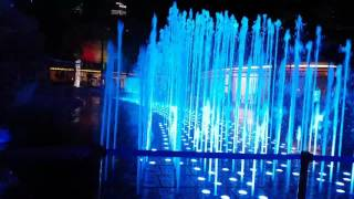 45 UAE National Day Water Fountain Moving On Music * 4K Amazing (Must Watch)