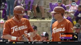 Texas vs TCU Baseball Highlights - Game 3