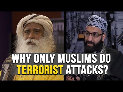 How To Stop Muslim's Terrorist Attacks?   Sadhguru And Tawhidi