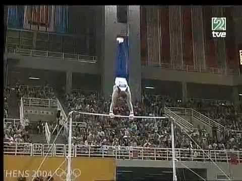 Paul Hamm (USA) - High Bar AA @ Athens Olympic Games 2004