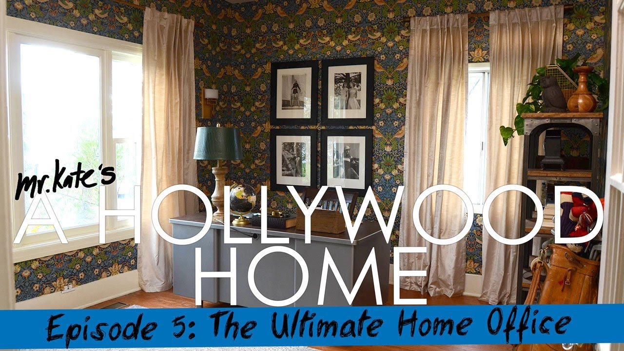 A Hollywood Home: The Ultimate Home Office!